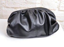 Sexy Knautsch Clutch Tasche Mini Bag Kosmetiktasche Beutel Pouch Beutel Handtasche Cocktail Schwarz Rosa Altrosa  Satin Abendtasche Täschchen
