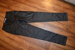 Nakd Pantalón de cuero negro