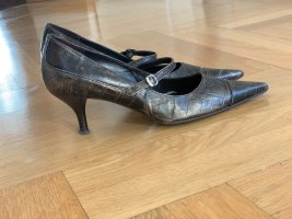 Mary Jane Pumps multicolored leather