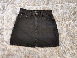 Sexy schwarzer Jeansrock Gr. S