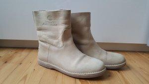 Shabbies Amsterdam Boots Hellbeige Gr 39