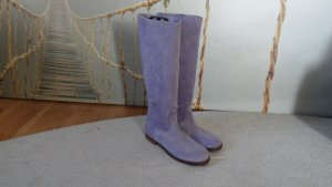SHABBIES AMSTERDAM Stiefel  Boots Gr. 41 wie Neu Violet