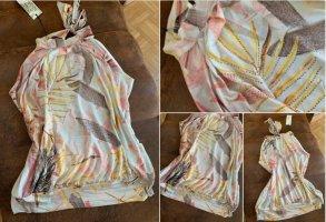 Shabby Style Tunika/Top - Größe L 40/42 - Apricot/Creme - Ballon