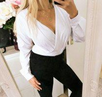 SheIn Blusa tipo body blanco