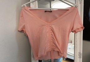 SheIn Camicia cropped rosa pallido-rosa chiaro