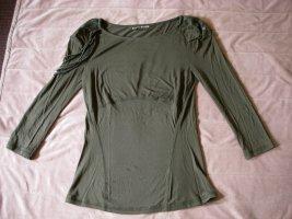 Shirt 3/4 Arm Karen Millen top oliv