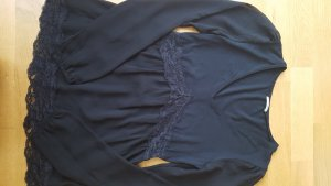 Intimissimi V-Neck Shirt black mixture fibre