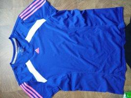Adidas Sports Shirt blue polyester