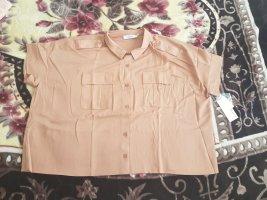 Koszulka typu batik piaskowy brąz-jasnobrązowy