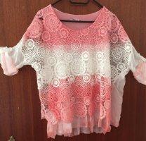 Fashion Highlight Gehaakt shirt roze