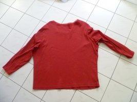Shirt für Business und Alltag Rundhalsausschnitt Gerry Weber Gr.46 kirschrot
