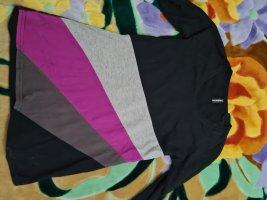 Madonna Camicia oversize nero-grigio chiaro
