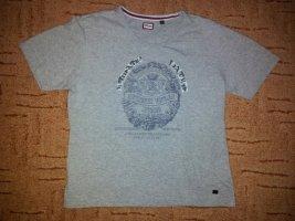 Shirt grau mit Druck Kitaro Gr. S
