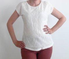 Livre Crochet Shirt white mixture fibre