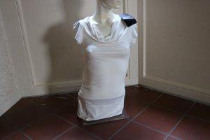 Melrose Cowl-Neck Shirt natural white viscose