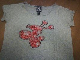 Shirt mit Straßsteinen
