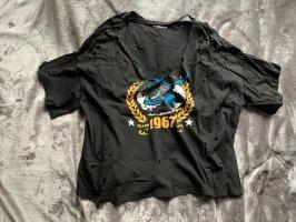 SheIn Oversized shirt zwart