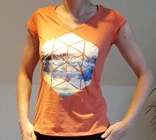 shirt orange Outdoor