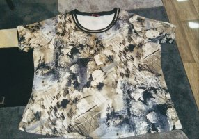 Thea Oversized shirt veelkleurig