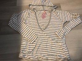 Broadway Camicia con cappuccio grigio chiaro-bianco