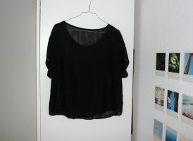 Shirt T-Shirt Sommer Chiffon transparent durchsichtig sexy locker leicht weit flowy