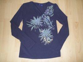 Shirt von Mexx in Gr. XS 34 lila mit Paillietten