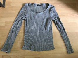 Reserved Geribd shirt grijs