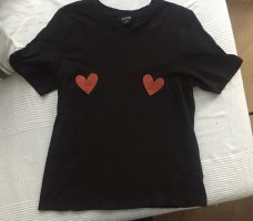 Shirt with hearts