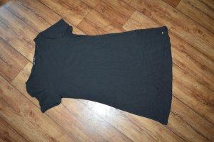 Shirtkleid Gr. 42 schwarz von oodji