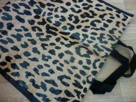 Shopper Beutel Tasche Leoparden Muster Print