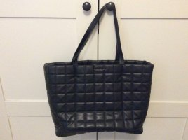 Charles & Keith Shopper black imitation leather