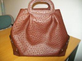 Codello Shopper brun cuir