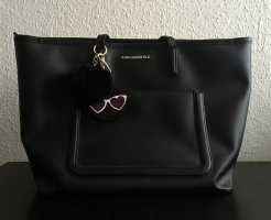 Karl Lagerfeld Shopper black imitation leather
