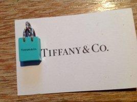 Shopping Bag Anhänger von Tiffany - mit Rechnung !  Kommt jetzt dann auf'n Flohmarkt