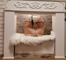 Shopping Bag PINKO Rosa Farbe Neu