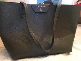 Shopping-Tasche von Patrizia Pepe grau/schwarz