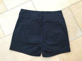 5 Preview High-Waist-Shorts blue-dark blue mixture fibre