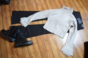 Short High Neck Sweater grau Nakd 38