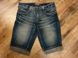 s.Oliver Short en jean bleu