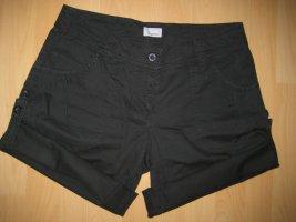 Kangaroos Shorts black cotton