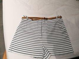 Zara Hot pants wolwit-blauw