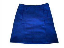 COS Wool Skirt neon blue wool