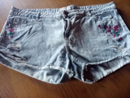 Janina Denim Shorts steel blue