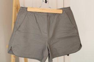 Shorts aus echtem Leder