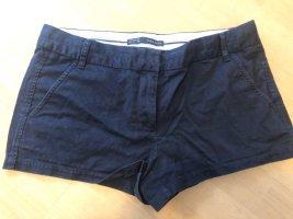 Shorts Basic Zara Blau klassisch
