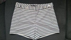 Shorts blau weiß marine Zara XS 34