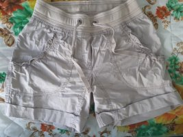 H&M Sport Sport Shorts cream-oatmeal