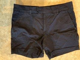label of graded goods Denim Shorts blue