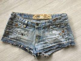 CoolCat Pantaloncino di jeans azzurro