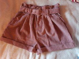FB Sister High waist short stoffig roze